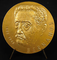 Medal Georges Bernanos Combat Spiritual of Well and of Evil Priest Catholic