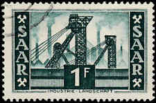 Scott # 232 - 1953 - ' Colliery Shafthead '