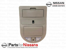 Genuine Nissan 2009-2015 Titan Front Overhead Console Map Lamp Grey NEW OEM