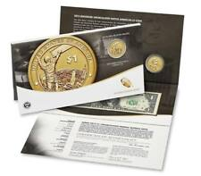 2015 Enhanced Native American $1 Coin & Currency Set West Point Dollar