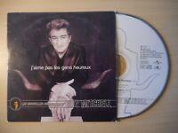 EDDY MITCHELL : J'AIME PAS LES GENS HEUREUX [ CD SINGLE PROMO ]