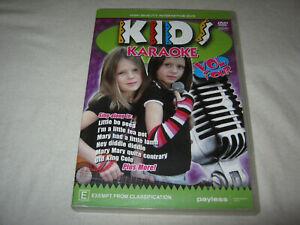 Kids Karaoke - Volume 4 - VGC - DVD - R4