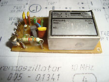 TCXO 10,0 Mhz  Philips auf Platine , geprüft