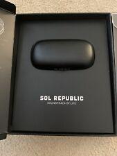 NEW Sol Republic Amps Air 2.0 True Wireless Bluetooth Gym Running Earbuds Black