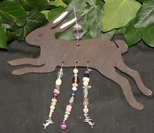 Leaping Hare Hanger Yule Decoration - Pagan, Wicca, Winter Solstice, Christmas