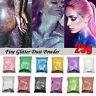 Iridescent Micro Glitter Sparkle Shimmer Effect Dust Powder Nail Art Lips Crafts