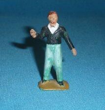 155A Jouet ancien Starlux plastique Figurine Cirque Monsieur Loyal 1/32