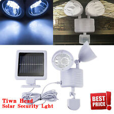 Dual Security Detector Solar Spot Light Motion Sensor Outdoor 22LED Floodlight T