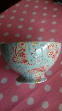 Greengate Rare Paisley Blue Soup Bowl