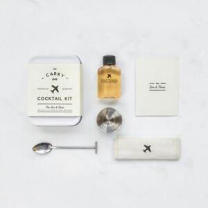 The Gin & Tonic Carry On Cocktail Kit - Contents for 2 Cocktails