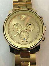 Movado Men's BOLD Metals Chronograph Gold-tone Watch 3600278