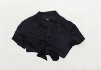 Coast Womens Size M Silk Black Shrug (Regular)