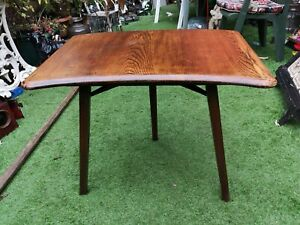 Ercol solid Elm extension table