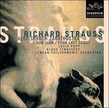 Strauss: Also Sprach Zarathustra / Don Juan / Four Last Songs ~ Tennstedt / Popp