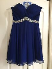 Homecoming/Cocktail Dress size 6, navy blue
