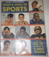 Who's Who In Sports Magazine Rocky Graziano & Ted Williams 1950 NO ML 072914R