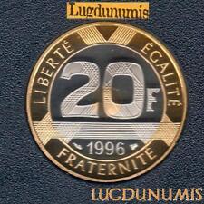 BE - 20 Francs Mont Saint-Michel 1996 FDC 5 319 Exemplaires Provenant du Coffret