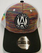 MLS Atlanta United FC NEW ERA 39THIRTY Men's Cap - Hat Medium - Large (9603)
