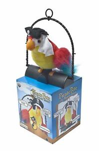 Pirate Pete The Repeat Parrot Animated Talking Says What You Speak