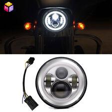 """7"""" Chrome LED Headlight Light For Kawasaki VN Vulcan 500 750 800 900 1500 1600"""