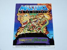 MOTU HE-MAN MASTERS OF THE UNIVERSE MINI COMIC 1985 KING OF THE SNAKE MEN TAIWAN