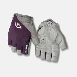 New Women's Giro Stradamassa Supergel Cycling Bike Gloves MEDIUM Purple / Gray