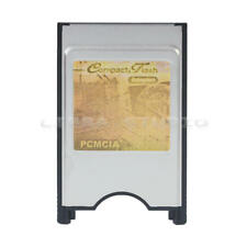 Compact Flash CF to PC Card PCMCIA Adapter Cards Reader for Laptop Notebook 1 x