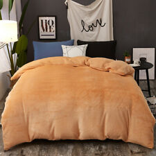 2020Winter thick warm double-sided duvet cover zipper design quilt cover blanket