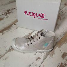 P34 - NEUF - Chaussures baskets fille Reqins Modèle STAR Blanc (79.00 €)