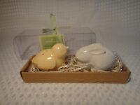 Hallmark Easter Salt And Pepper Shakers Chick Bunny Rabbit