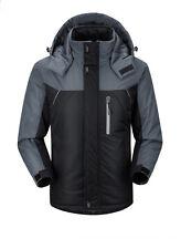 Unisex Men Women Couple Winter Thick Hooded Hiking Jacket Warm Coat Outwear