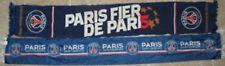 Lot 2 écharpe PSG Fier de PARIS SAINT-GERMAIN Champion 2015 supporter scarf