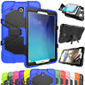 Heavy Hybrid Shockproof Screen Protector Case For Samsung Galaxy Tab E 8.0 T377