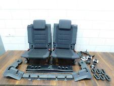 VW Touran 1T Rücksitz Rücksitzbank Stoffsitz hinten 3 reihe schwarz Verkleidung