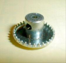 "1960's Vintage Crown Gear 32 tooth for 3/32""  .093"" Shaft Set Screw NOS slot car"