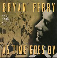 """BRYAN FERRY """"AS TIME GOES BY"""" SPANISH PROMOTIONAL CD SINGLE / ROXY MUSIC"""