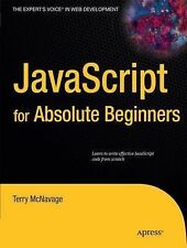 Javascript for Absolute Beginners by Terry Mcnavage (2010, E-book)