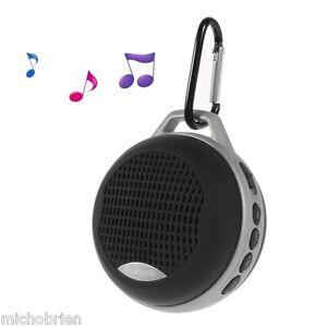 Bluetooth Sport Travel Outdoor Wireless Speaker + Hands Free Calls Black