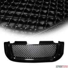 Blk Bentley Mesh Front Hood Bumper Grill Grille Kit Replacement 02-08 GMC Envoy