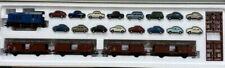 Marklin HO 28631 VW Car Carrier Set With Deutz Design Diesel Locomotive BR V36