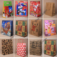 3pc SMALL CHRISTMAS XMAS GIFT PRESENT BAGS.. IDEAL FOR PERFUME, MAKEUP JEWELLERY