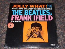 THE BEATLES & FRANK IFIELD ON STAGE Still Sealed Vinyl JOLLY WHAT! Stereo LP