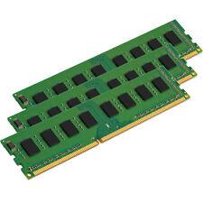 12GB 3x4GB PC3-10600 1333MHZ DDR3 240pin DESKTOP MEMORY