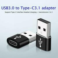 USB 3.0 Type A Male to USB 3.1 Type C Female Connector Converter Adapter HOT