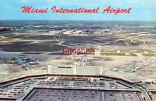 MIAMI INTERNATIONAL AIRPORT one of most beautiful terminals in the world 1968