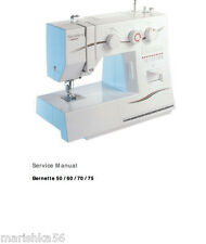 Bernina sewing manuals instructions ebay bernina bernette 50 60 70 75 service manual parts schematics in pdf on cd fandeluxe Gallery