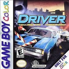 Driver (Nintendo Game Boy Color, 2000)