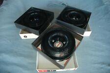 3 PK Vintage Original Kodak Carousel 80 Slide Tray in Original Box Made In USA