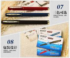 12x 0.5mm Baoke Gel ink pen business signature Smooth Writing Rollerball pens
