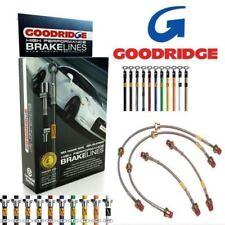 Goodridge Brake Hose kit SFD0210-4C for Ford Escort XR3i 1983-1990